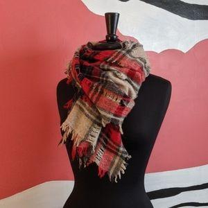 Madewell Scottsdale Plaid scarf